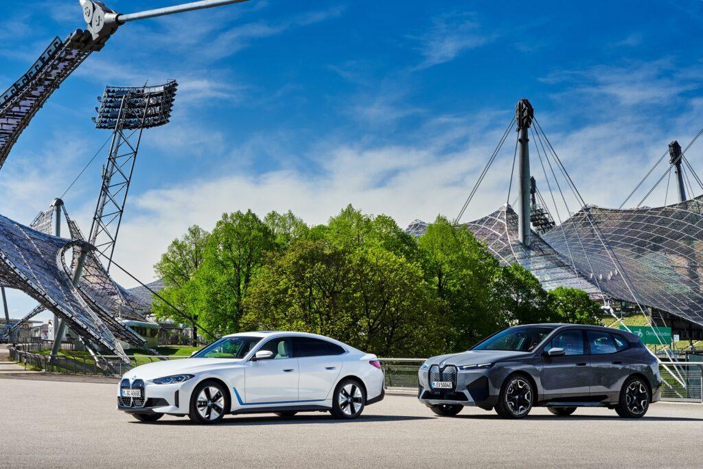 BMW i4 en iX in München