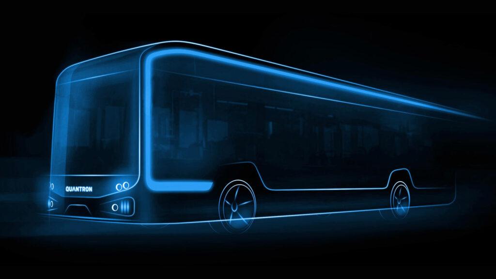 Quantron AG lijnbus BEV FCEV