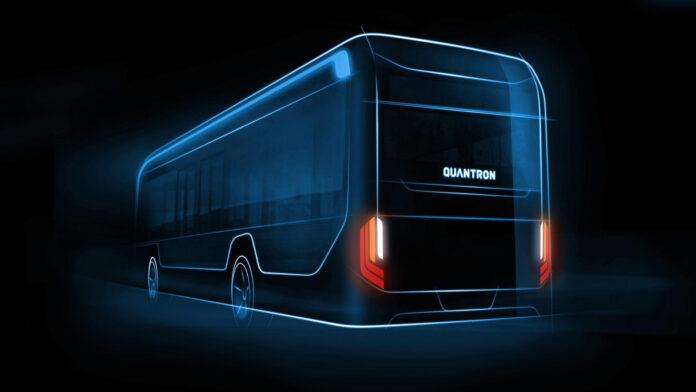 Quantron AG lijnbus elektrisch waterstof BEV FCEV
