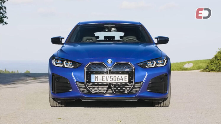 BMW i4 M50 rij-impressie