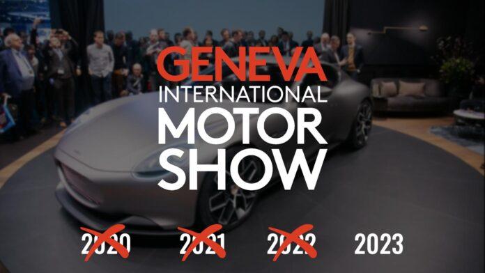 Autosalon van Genève 2022 geannuleerd