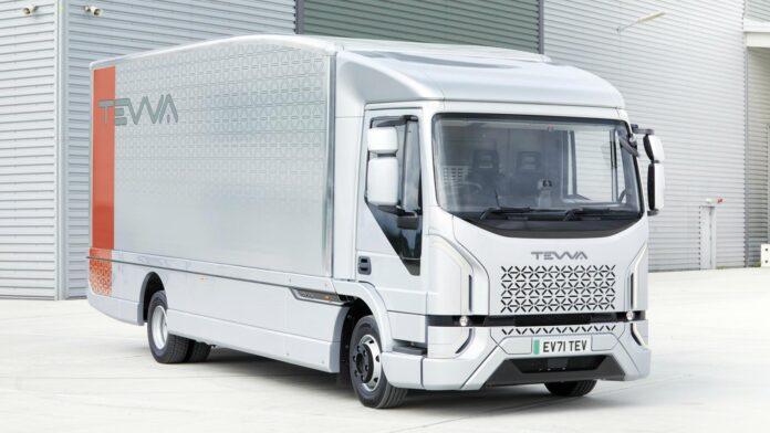 Elektrische Tevva Truck