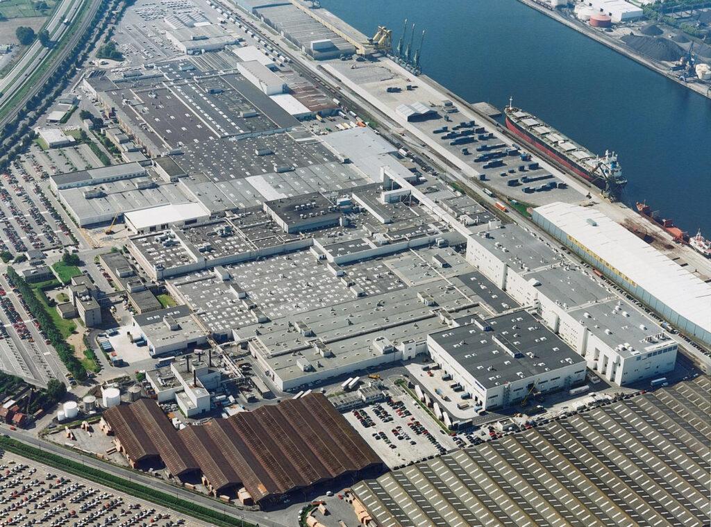 Volvo-fabriek productie Gent België