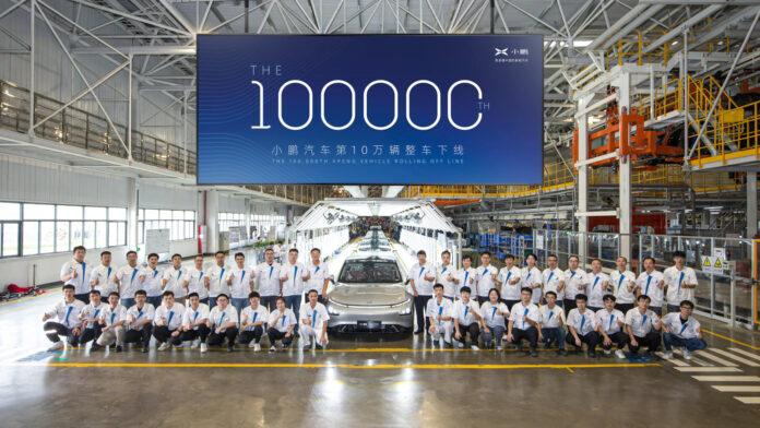Xpeng 100.000e auto